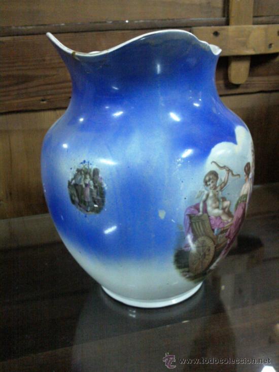 Antigüedades: Antigua jarra con marca de San Juan de Aznalfarache - Foto 11 - 34052292