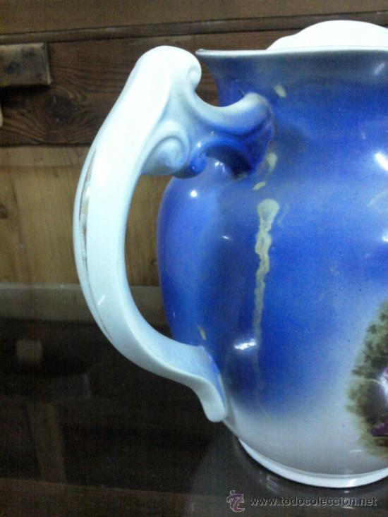 Antigüedades: Antigua jarra con marca de San Juan de Aznalfarache - Foto 2 - 34052292