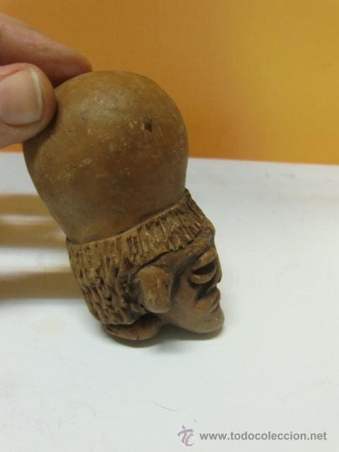Antigüedades: Pieza de barro, parece egipcio. - Foto 2 - 34054812