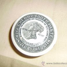 Antigüedades: JOHN GOSNELL&CºLTD.LONDON.CAJA CERAMICA PASTA DE DIENTES CHERRY. Lote 34041061