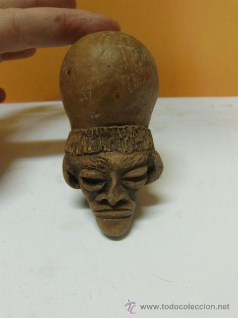 PIEZA DE BARRO, PARECE EGIPCIO. (Antigüedades - Varios)