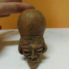 Antigüedades: PIEZA DE BARRO, PARECE EGIPCIO. . Lote 34054812