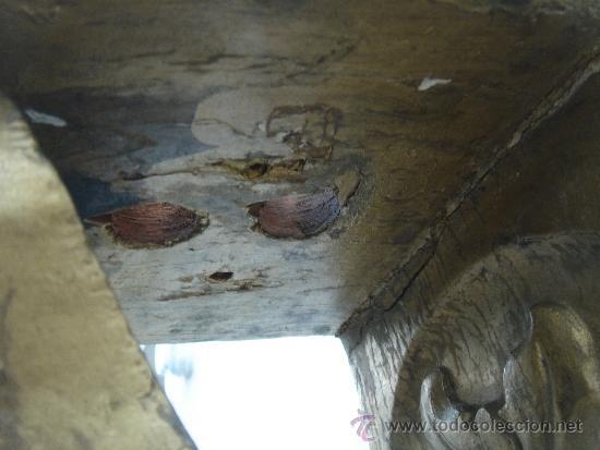 Antigüedades: DETALLE DE LOS AGUJEROS DE LA BASE, POR LA CARA INTERNA - Foto 9 - 34056780