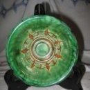 Antigüedades: CUENCO VIDRIADO, CERAMICA GONGORA, DE UBEDA ( JAEN ). Lote 34056944
