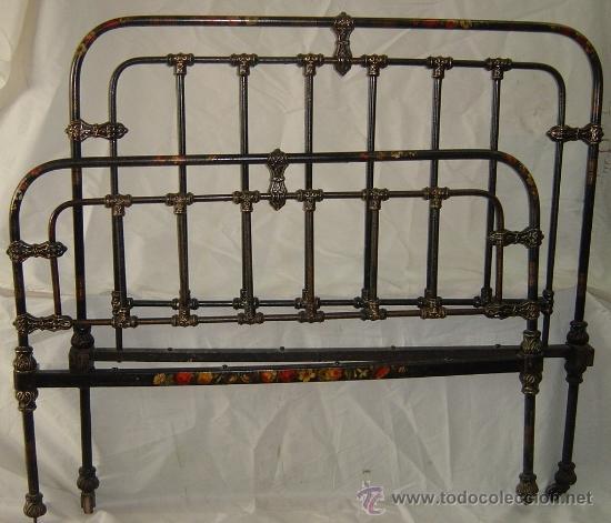 Cama de hierro siglo xix comprar camas antiguas en for Cama hierro