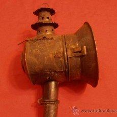 Antigüedades: FAROL DE CARRUAJE MUY ANTIGUO. Lote 34068545