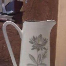 Antigüedades: ANTIGUA JARRA DE PORCELANA SAN CLAUDIO. Lote 34084524