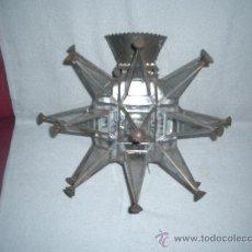 Antigüedades: APLIQUE DE LUZ ESTILO MORISCO . Lote 34084756