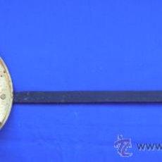 Antigüedades: ANTIGUA ESPUMADERA DE LATON. Lote 34086683
