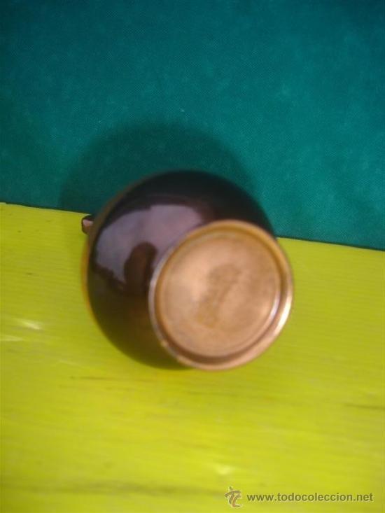 Antigüedades: jarrón pequeño de cobre repujado - Foto 2 - 34092944