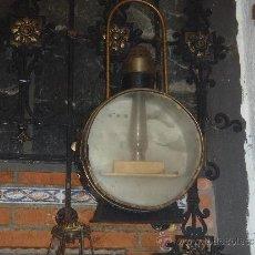 Antigüedades: FAROL DE TREN DELANTERO MAQUINA DE VAPOR 75 CM DE ALTURA RENFE. Lote 40727565