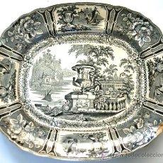 Antigüedades: GRAN FUENTE DE SARGADELOS - SERIE GÓNDOLA - S. XIX. Lote 34119556