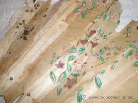 Antigüedades: ABANICO DE NACAR PARA RESTAURAR - Foto 14 - 34127018