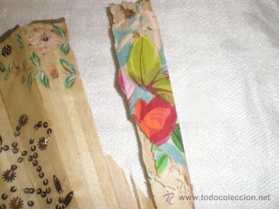 Antigüedades: ABANICO DE NACAR PARA RESTAURAR - Foto 12 - 34127018