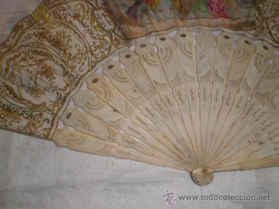 Antigüedades: abanico de hueso y oro isabelino - Foto 15 - 34126814