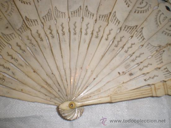 Antigüedades: abanico de hueso y oro isabelino - Foto 18 - 34126814