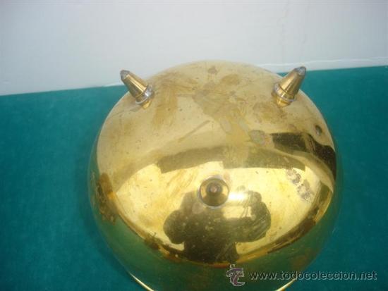 Antigüedades: pequeño maceton de metal - Foto 3 - 34134216