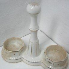 Antigüedades: ANTIGUA BASE VINAGRERAS PORCELANA ROYAL CHINA. Lote 34183643