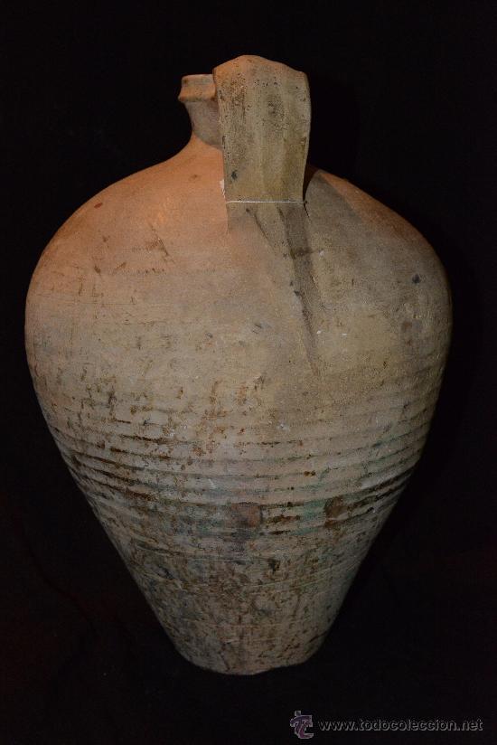 Antigüedades: muy antiguo y precioso cántaro de Lucena, buena conservación y bonita pátina - Foto 2 - 34175890
