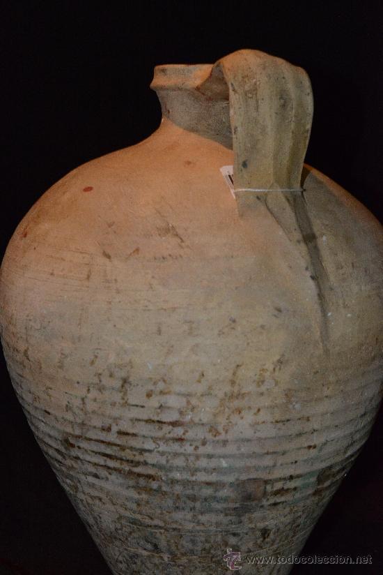 Antigüedades: muy antiguo y precioso cántaro de Lucena, buena conservación y bonita pátina - Foto 3 - 34175890