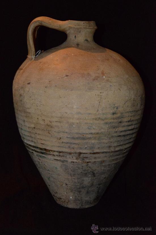 Antigüedades: muy antiguo y precioso cántaro de Lucena, buena conservación y bonita pátina - Foto 4 - 34175890