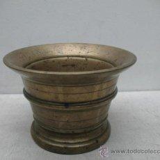 Antigüedades: ANTIGUO MORTERO DE COBRE. Lote 34184527