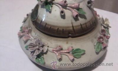 Antigüedades: Preciosa bombonera CAPODIMONTE - Foto 2 - 34189287