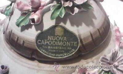 Antigüedades: Preciosa bombonera CAPODIMONTE - Foto 5 - 34189287