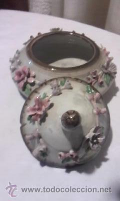 Antigüedades: Preciosa bombonera CAPODIMONTE - Foto 6 - 34189287