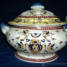 Antigüedades: GRANDIOSA SOPERA ORIENTAL. SIGLO XIX?. Lote 34189744
