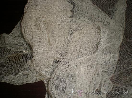 Antigüedades: chal de novia mantilla - Foto 3 - 36949011
