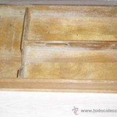 Antigüedades: CAJON ANTIGUO PARA CUBIERTOS - DE MADERA. Lote 34216040