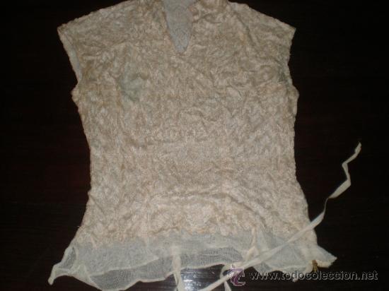 CAMISA ANTIGUA DE FIESTA (Antigüedades - Moda y Complementos - Mujer)