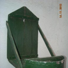 Antigüedades: SOPORTE JAULA PERDICERA. Lote 34220835