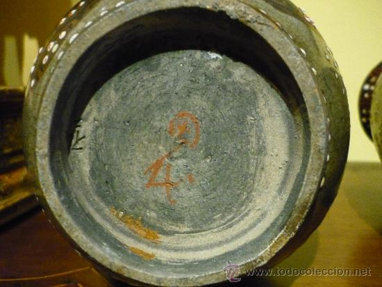 Antigüedades: PAREJA DE JARRONES SATSUMA .JAPON. PRINCIPIOS SIGLO XX. FIRMADOS. - Foto 7 - 34223626