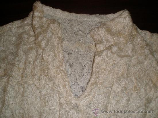 Antigüedades: camisa antigua de fiesta - Foto 6 - 34219273