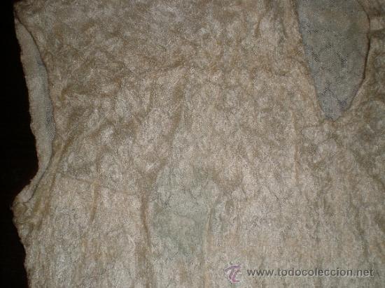 Antigüedades: camisa antigua de fiesta - Foto 4 - 34219273