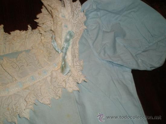 Antigüedades: vestido azul - Foto 3 - 34219085