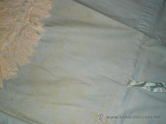 Antigüedades: vestido azul - Foto 2 - 34219085