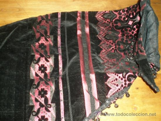 Antigüedades: estola manton negro - Foto 2 - 34218668