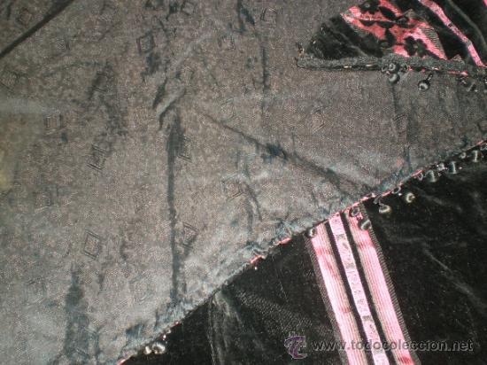 Antigüedades: estola manton negro - Foto 8 - 34218668