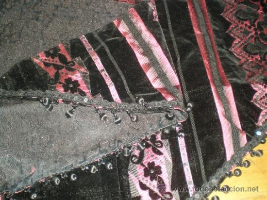 Antigüedades: estola manton negro - Foto 7 - 34218668