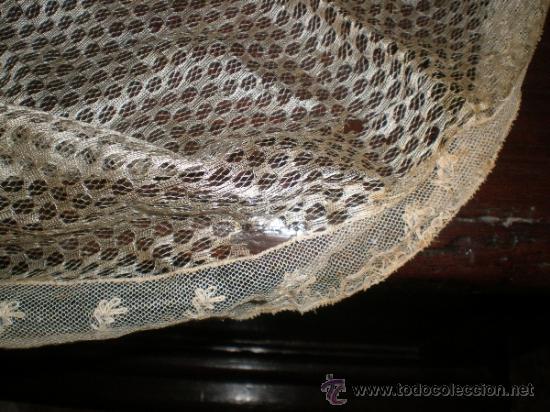 Antigüedades: mantilla blanca - Foto 3 - 34218581