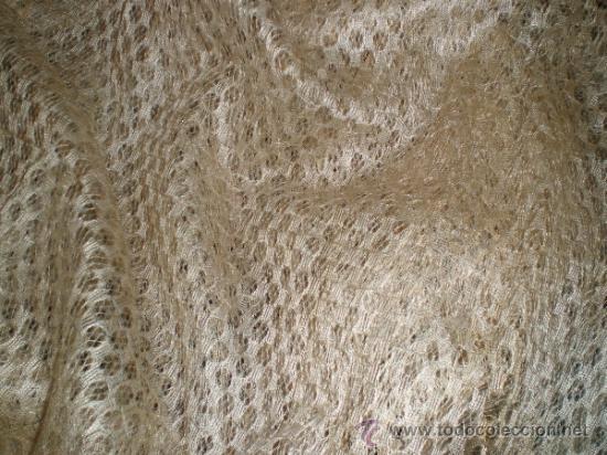 Antigüedades: mantilla blanca - Foto 4 - 34218581