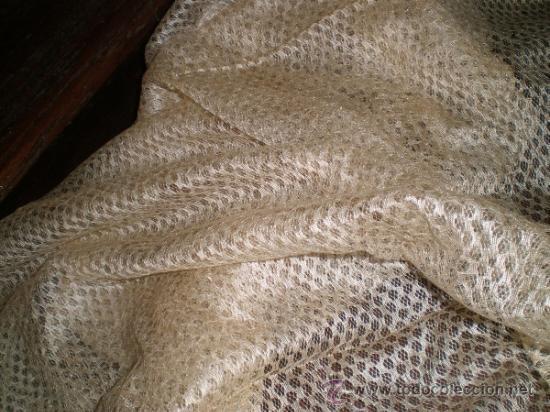 Antigüedades: mantilla blanca - Foto 6 - 34218581
