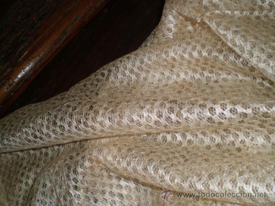 Antigüedades: mantilla blanca - Foto 5 - 34218581
