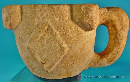 Antigüedades: EXTRAORDINARIO MORTERO EN PIEDRA CALCÁREA. SIGLO XIII-XIV. - Foto 3 - 34246442