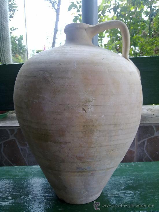 ANTIGUO CANTARO DE AGUA DE LUCENA, BUENA DIMENSION (Antigüedades - Porcelanas y Cerámicas - Lucena)