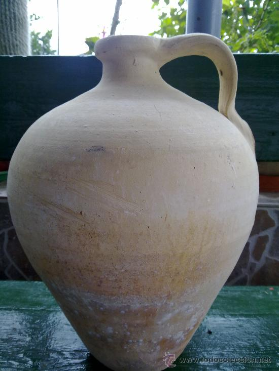 ANTIGUO CANTARO DE AGUA DE LUCENA (Antigüedades - Porcelanas y Cerámicas - Lucena)