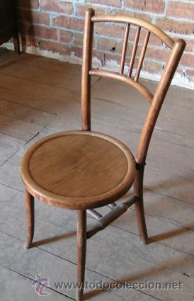 Silla antigua toda de madera estructura y asie comprar sillas antiguas en todocoleccion - Sillas de madera antiguas ...